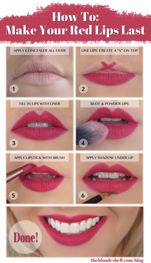 How to get a Perfect Cupid Bow - 7 Makeup Hacks Every Woman Should Know - The Content Spa