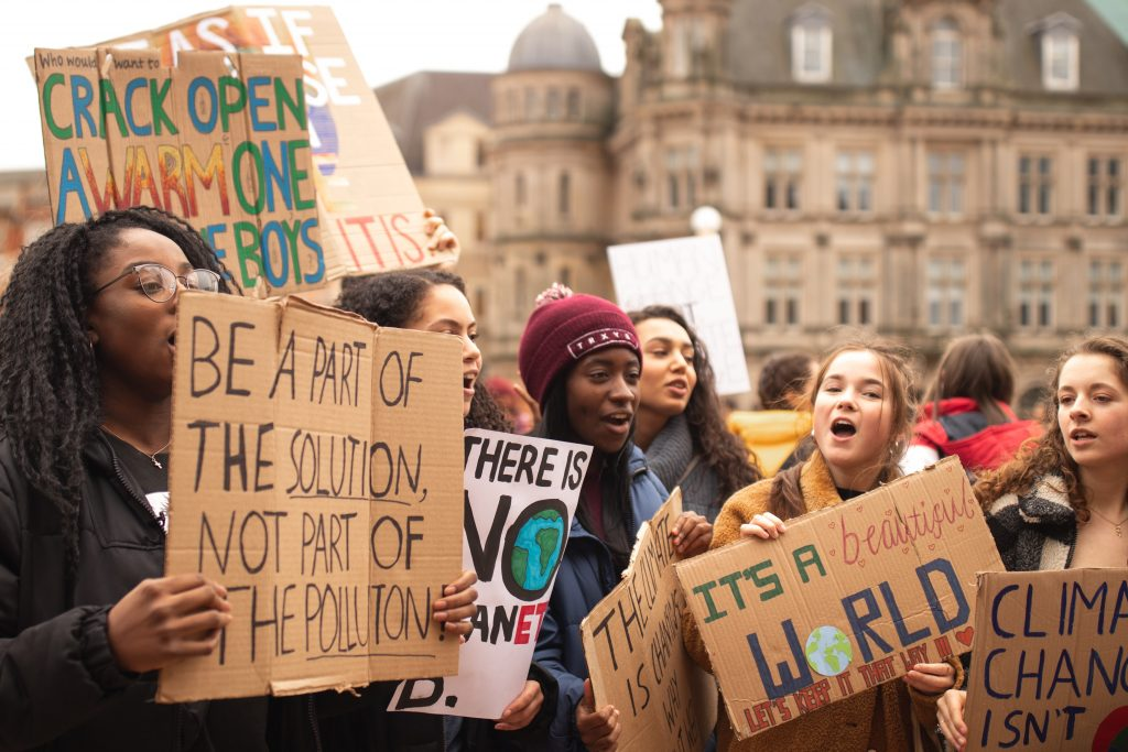 Protest for climate change - How to Target Generation Z With Beauty Content Marketing - Content Spa