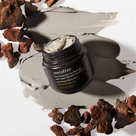 Innisfree Volcanic Clay Mask - The Korean Wave in the Beauty Industry - Content Spa