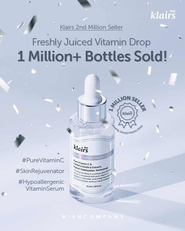 Klairs Vitamin Drop Serum - The Korean Wave in the Beauty Industry - Content Spa