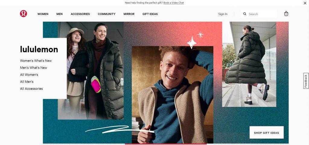 Lululemon Homepage - The Secret behind Lululemon's Success - Content Spa
