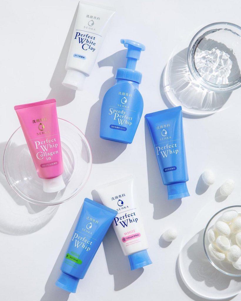 Senka Perfect Whip Cleanser - Japanese Skincare Secrets Revealed - Content Spa