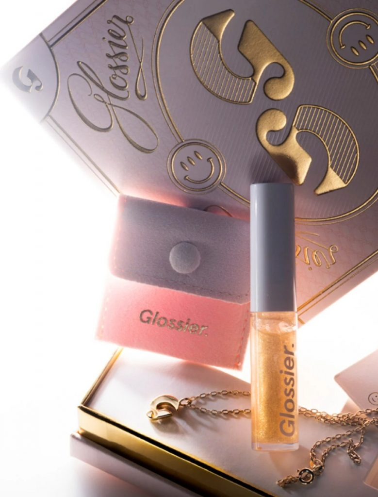 Glossier Limited Edition Gold Kit - 9 Content Marketing Strategies That Actually Work - Content Spa