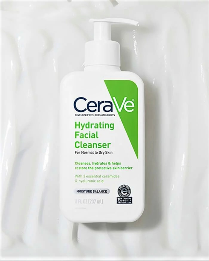 Cerave Hydrating Facial Cleanser - TikTok and Bite-sized Beauty Advice for Beginners - Content Spa