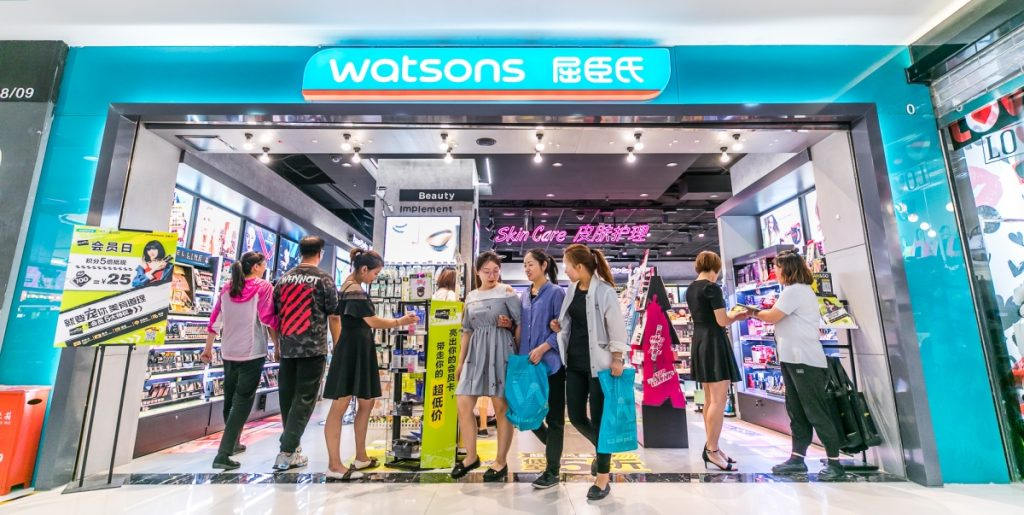 Watsons China - Watsons Takes Over Asia as One of Its Leading Health and Beauty Retail Brand - Content Spa