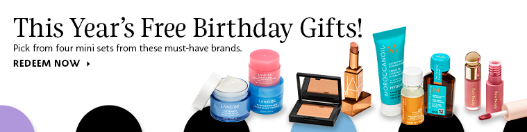 Sephora Birthday Gift Promo Banner - Business 101 - Keep Your Customers Reeled In - Content Spa